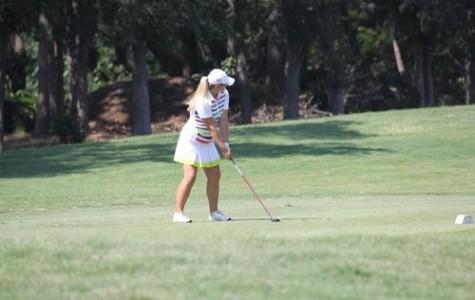 Girls Golf Sets Themselves Below Par